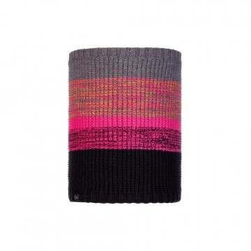 Buff Alyona Knitted Neckwarmer Melange Grey