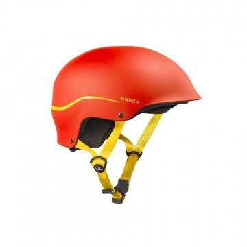 Palm Shuck Half Cut Kayak Helmet Red