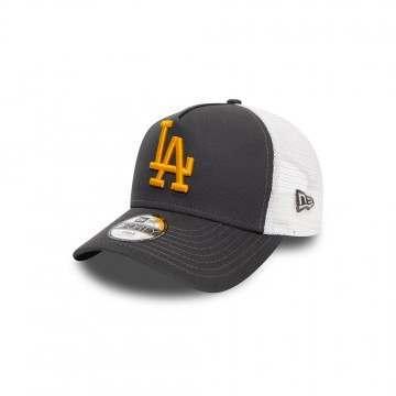 New Era LA Dodgers AFrame Trucker Cap Blue