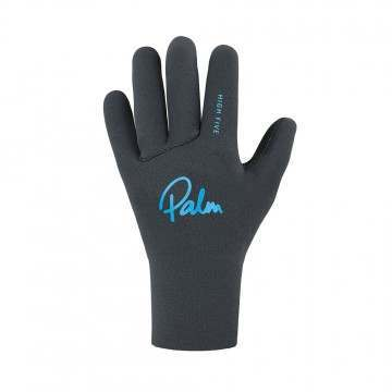 Palm Kids High Five Wetsuit Gloves Jet Grey