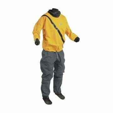 Palm Base Kayak Dry Suit Saffron