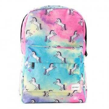 Spiral Unicorn Universe Backpack Multi