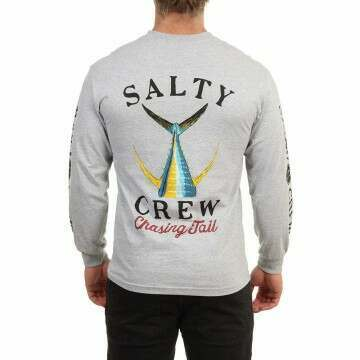 Salty Crew Tailed L/S Top Athletic Heather
