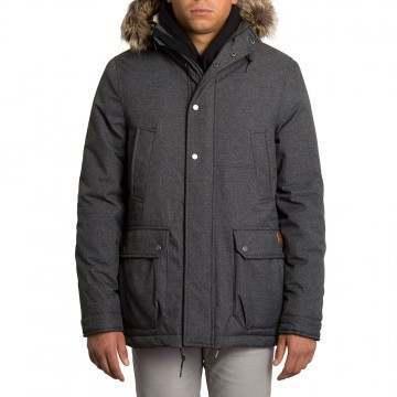 Volcom Lidward Jacket Heather Black