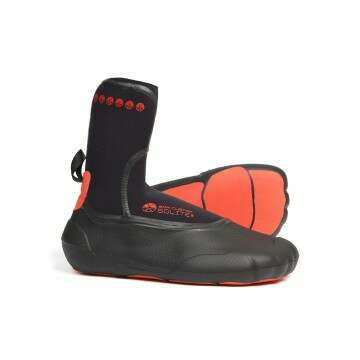 Solite 8MM Custom Moldable Wetsuit Boots Red