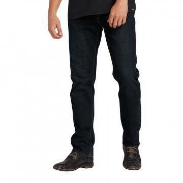 Volcom Solver Denim Jeans Vintage Blue