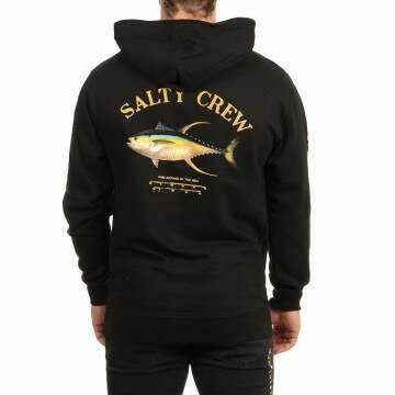 Salty Crew Ahi Mount Hoody Black