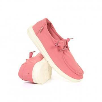 Hey Dude Wendy Shoes Rose Washed Canvas