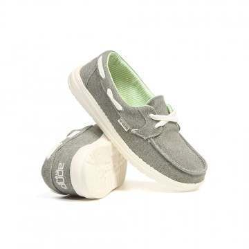Hey Dude Lily Classic Shoes Grey