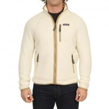 Patagonia Retro Pile Fleece Jacket Natural