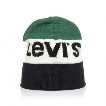 Levis Sportswear Logo Beanie Dark Blue