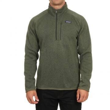 Patagonia Better Sweater 1/4 Zip Fleece Green