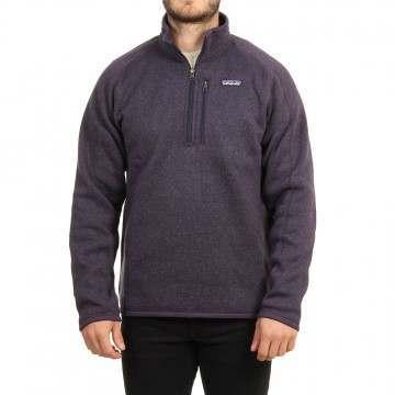 Patagonia Better Sweater 1/4 Zip Fleece Purple