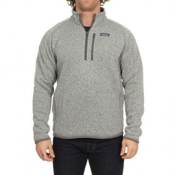 Patagonia Better Sweater 1/4 Zip Stonewash