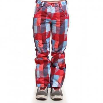 ONEILL GIRLS CARAT PANTS Red AOP