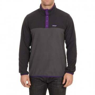 Patagonia Micro D Snap T Pullover Forge Grey