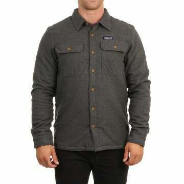Patagonia Ins Fjord Flannel Shirt Jacket For Grey