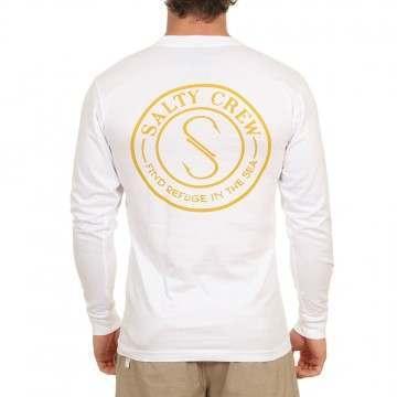 Salty Crew Palomar Long Sleeve Top White