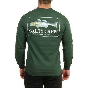 Salty Crew Branzino Long Sleeve Top Spruce