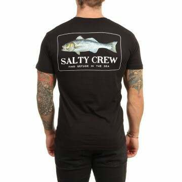 Salty Crew Branzino Tee Black