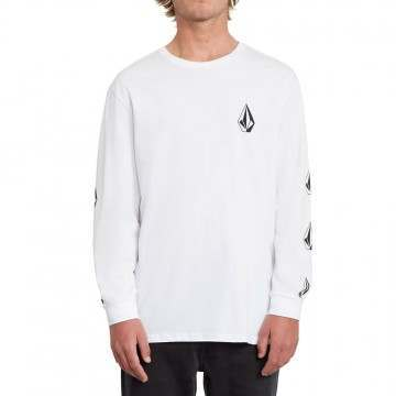 Volcom Deadly Stone Long Sleeve Top White