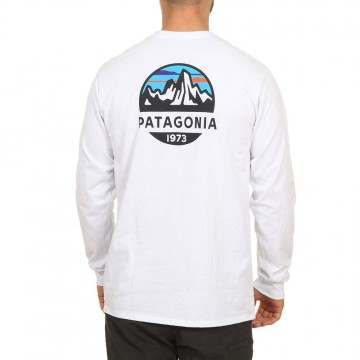 Patagonia Fitz Roy Scope L/Sleeve Top White