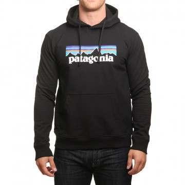 Patagonia P6 Logo Uprisal Hoody Black