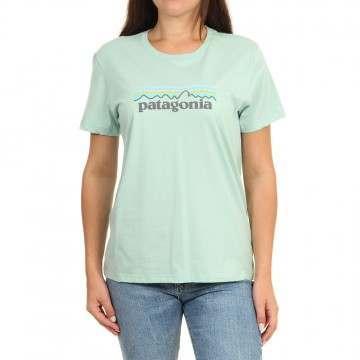Patagonia Pastel P6 Logo Tee Gypsum Green