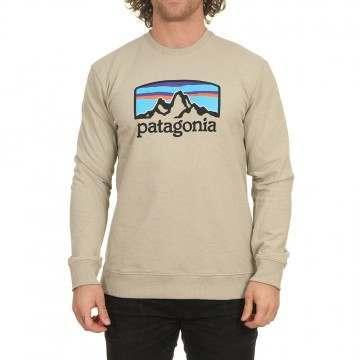 Patagonia Fitz Roy Horizons Uprisal Crew Pumice