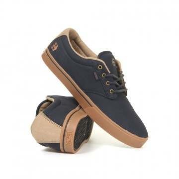 Etnies Jameson 2 Eco Shoes Navy/Gum/Gold