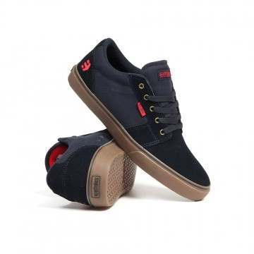 Etnies Barge LS Shoes Navy/Gum/Gold