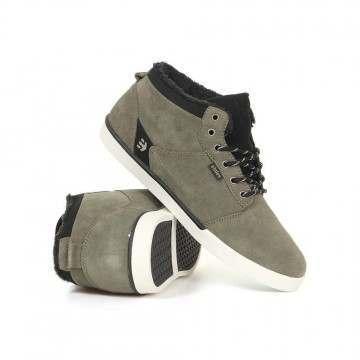 Etnies Jefferson MID Shoes Olive/Black