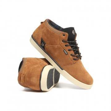 Etnies Jefferson Mid Shoes Brown/Black/Tan