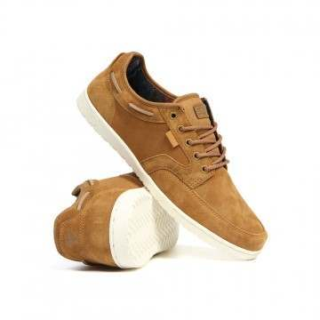 Etnies Jefferson Dory Shoes Tan/White