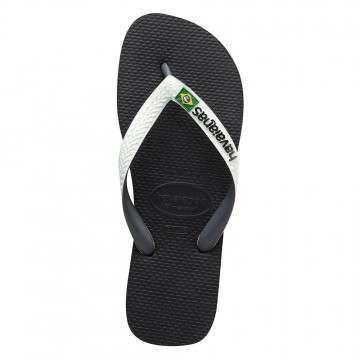 Havaianas Brasil Mix Sandals Black/White