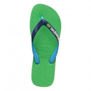 Havaianas Brasil Mix Sandals Leaf Green