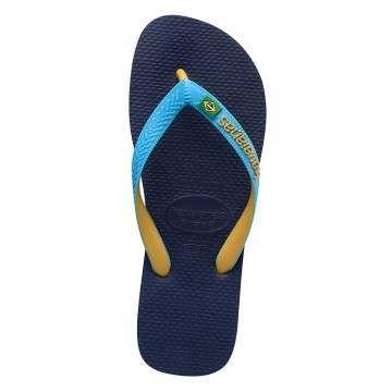 Havaianas Brasil Mix Sandals Navy/Tur/Yellow