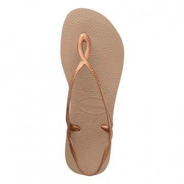Havaianas Luna Sandals Rose Gold