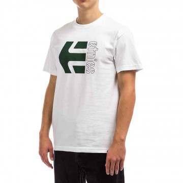 Etnies Corp Combo Tee White