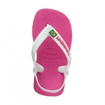 Havaianas Baby Brasil Logo Sandals Holly Rose