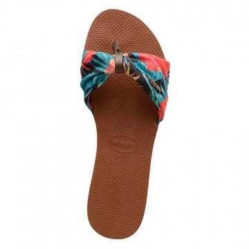 Havaianas You Saint Tropez Sandals Rust