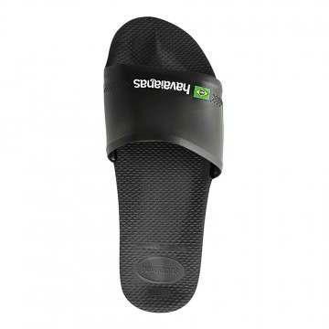 Havaianas Slide Brasil Sandals Black