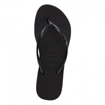 Havaianas Slim Flatform Sandals Black