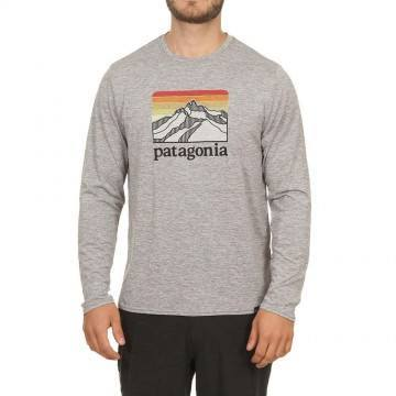 Patagonia Capilene Cool Daily L/Sleeve Top Grey