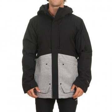 Volcom Scortch Ins Snow Jacket Heather Grey