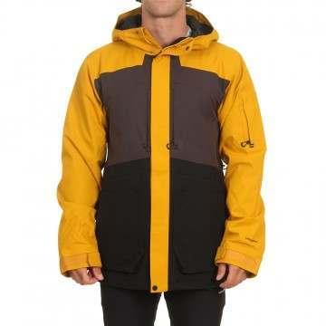 Volcom Scortch Ins Snow Jacket Resin Gold