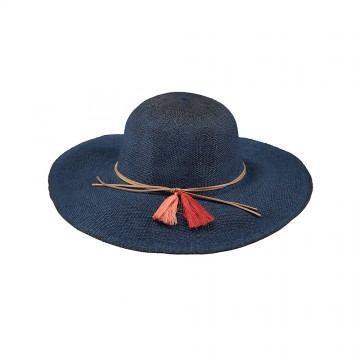 Barts Alecan Straw Hat Navy