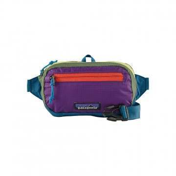 Patagonia Black Hole Mini Hip Pack Patchwork Blue