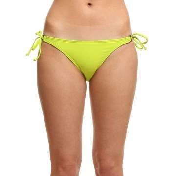 ONEILL SOLID TIE BIKINI BOTTOMS Lime Punch