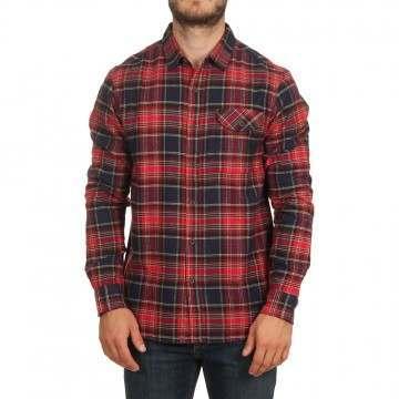 Vissla Central Coast Shirt Red